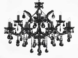red crystal chandelier chandelier interesting black crystal