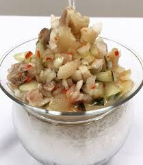 trotter ceviche pig trotters