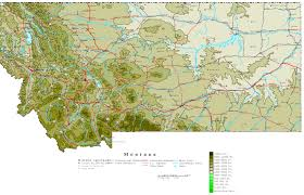 montana map  online maps of montana state