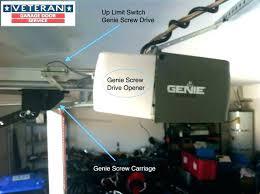 adjusting genie garage door opener genie change code genie intellicode garage door opener genie drive