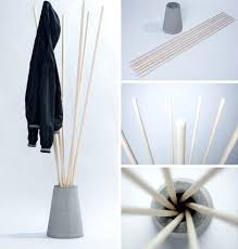 How To Make A Free Standing Coat Rack Make Standing Coat Rack Easy To Turn Into A Storage Glee Sticks 97