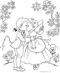 vintage coloring book pages. Interesting Vintage Retro Coloring Pages Vintage 2 Free Valentine   And Vintage Coloring Book Pages E