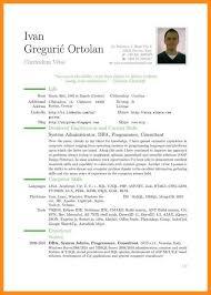 European Curriculum Vitae Format Pdf Download Eliolera Com
