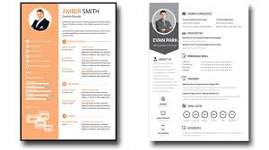 Photoshop Resume Template Best Free Editable Resume Templates Commily