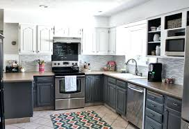 grey stained kitchen cabinets grey stained kitchen cabinets two toned ideas pictures gray painted high gloss grey stained maple kitchen cabinets