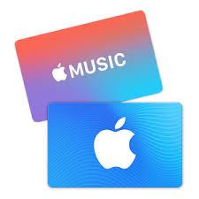 Geschenkkarten für App Store und iTunes, Apple Music-Geschenkkarten ...