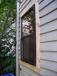 exterior window trim install. how to install exterior trim around a window - round designs d