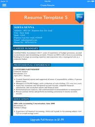 Resume Builder App Beauteous Free Resume Builder App Professional CV Maker and Resumes Designer