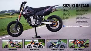 cool supermoto bikes drz400sm youtube
