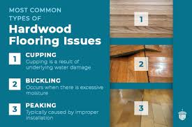buckling in hardwood floors