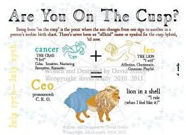 Cusp Chart Astrology Is Your Western Zodiac A Cusp And If So What Is It