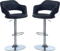 Coaster Hydraulic Bar Stool u2013 Black