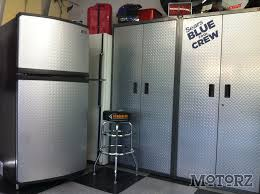 garage refrigerator freezer. Wonderful Freezer Gladiator GarageWorks Chillerator Garage RefrigeratorFreezer  By  Motorz TV With Refrigerator Freezer T