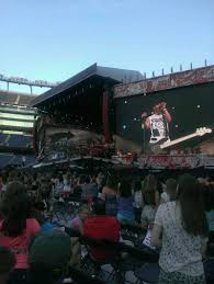 Gillette Stadium One Direction Seating Chart 70 Credible One Direction Floor Seats View