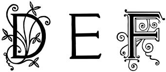 Cool Letters Stencils Free Fancy Alphabet Cliparts Download Free Clip Art Free Clip Art