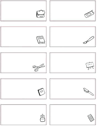 Recipe Labels Templates School Labels Template Emmaplays Co