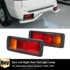 <b>2PCS</b>/Set Car Left & Right Rear <b>Tail Light Bumper</b> Lamp MB124963 ...