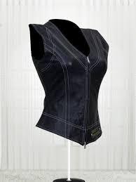 harley davidson women s leather vests