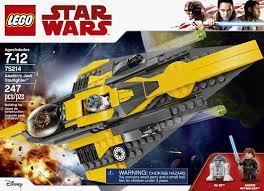 <b>LEGO Star Wars</b> TM Anakin's Jedi Starfighter <b>75214</b> | Toys R Us ...
