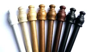 wooden curtain rods wood curtain rod finials wood curtain rods image of white wood curtain rods wooden curtain rods