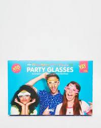 <b>Бумажные очки для вечеринки</b> Doiy Crazy, 10 шт. | ASOS