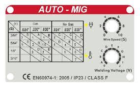 Mig Welder 130 Amp By Mag Power 115vac