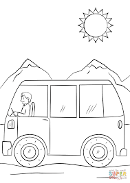 Small Picture Coloring Pages Cartoon Bus Coloring Page Free Printable Coloring