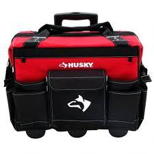 job box on wheels. red plastic tool boxs tips box with wheels husky rolling bag job on g