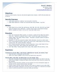 Security Officer Resume Beauteous Blakley Security Officer Resume 60