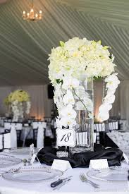 ... Charming Wedding Table Decoration With Various White Flower Wedding Table  Centerpiece Ideas : Comely Picture Of ...