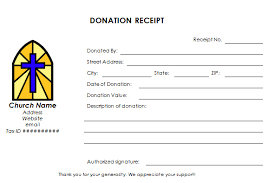 Donation Form Template For Church Templates Resume