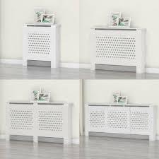 4 sizes radiator cover white unfinished