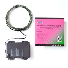 Battery Operated Led Lights With Timer Rtgs 60 Pink Color Led String Lights Batteries Operated On 20 Feet Long Green Color Wire With Black Waterproof Batteries Box Automatic Timer And 8