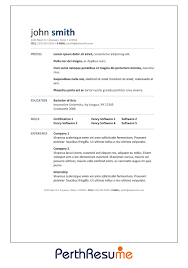 Best Solutions Of Resume And Cover Letter Services Perth On Resume