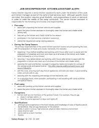 Porter Job Description For Resume Kitchen Porter Resume Sample Sidemcicek 1