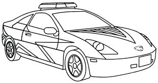 Police Car Coloring Pages Police Car Coloring Pages To Print 20 Free