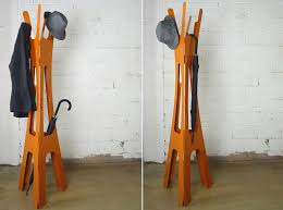 Solid Wood Coat Rack Keeping Clothes Off the Floor Designing a FloorStanding Coat Rack 81
