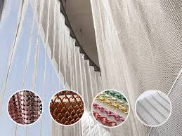 a summary picture of colorful decorative wire mesh for curtains and ds