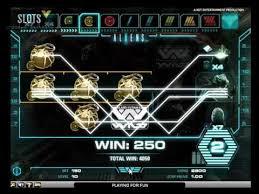 Игровой автомат alien robots netent