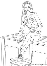 Small Picture Barbie Color Page Coloring Pages Free blueoceanreefcom