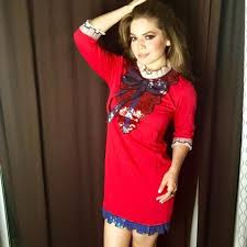 gucci inspired clothing. alma gucci inspired dress red clothing