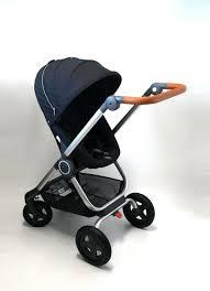 Rosa Baby Kinderwagen Reise Systemen Stokke Scoot V Aus Echtem Leder