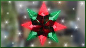 Diy Waldorf Fensterstern Basteln Weihnachtsstern Falten