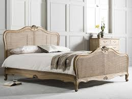 Online Store - Frank Hudson Chic Cane Bed - Weathered