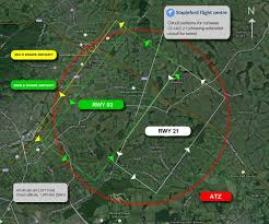 Uk Aerodrome Charts Airfield Circuit Information Stapleford Flight Centre