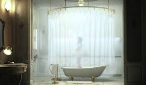 clawfoot bathtub shower curtain beautiful clawfoot tub shower clawfoot shower curtain rod
