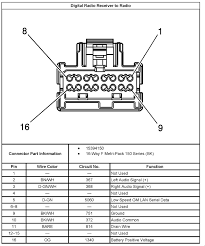 trying to put a 2004 saturn radio (pt no 22727872) into my 2003 2001 saturn l200 radio wiring diagram at 2001 Saturn Radio Wiring Diagram