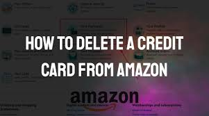 Amazon household is a way of sharing amazon prime benefits and digital content with other people in your household. How To Delete A Credit Card From Amazon App Authority