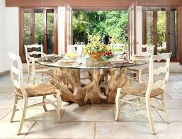 round glass dining room table driftwood dining table base furniture driftwood dining room table modern geranium