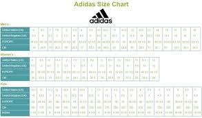 Adidas Cleat Size Chart My Shoe Spot Myshoespotcom On Pinterest